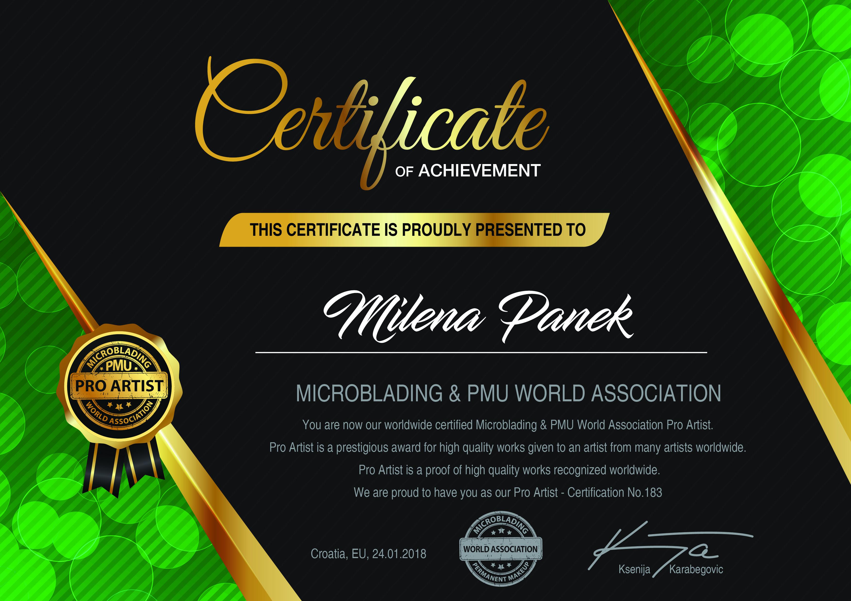 183. Milena Panek
