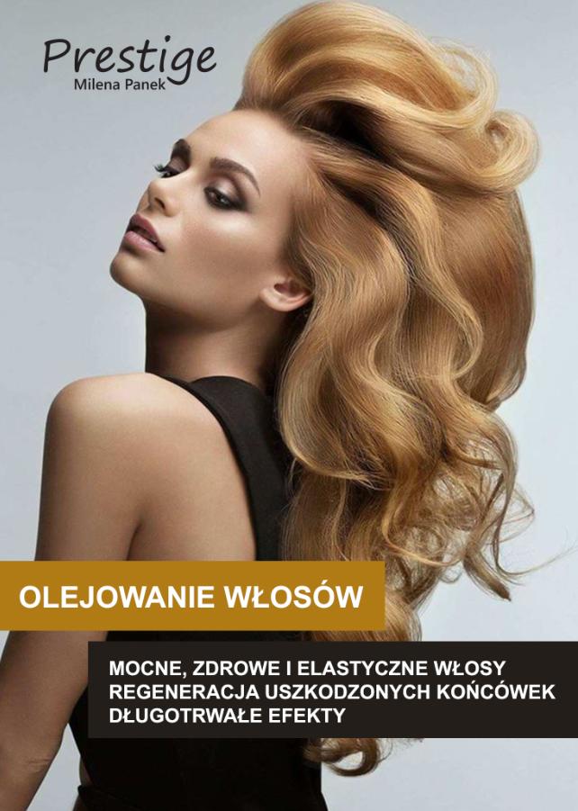 olejowanie włosów 50x70